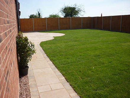 lawns and patios